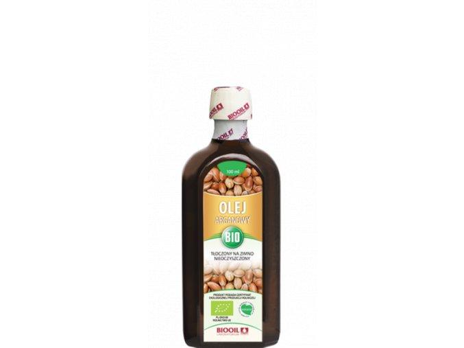 Arganový olej 100ml BIO, za studena lisovaný, extra panenský