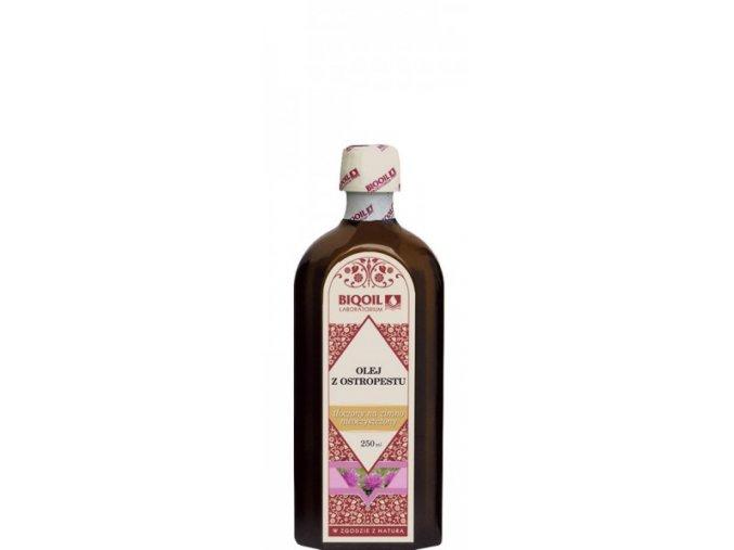 Olej z ostropestřce 250ml, za studena lisovný, extra panenský, nefiltrovaný