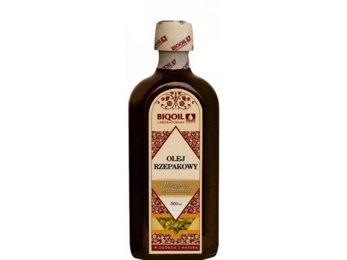 Řepkový olej 500ml, za studena lisovaný, extra panenský