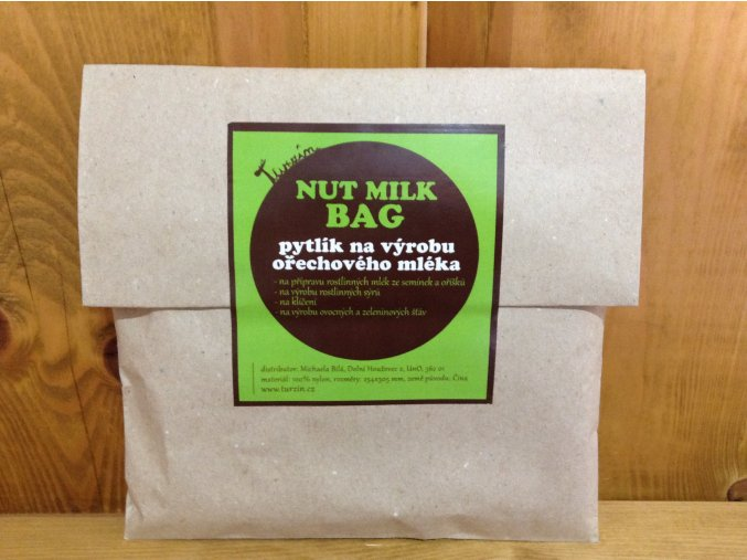 Pytlík na výrobu ořechového mléka - nut milk bag