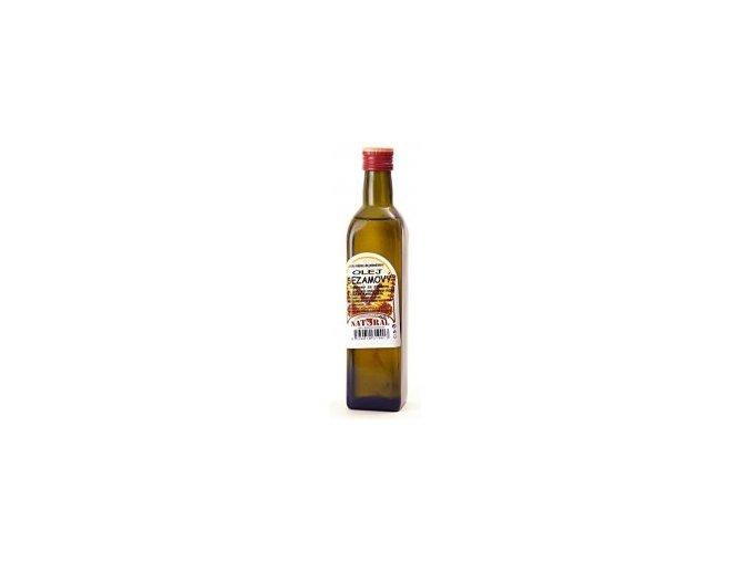 Olej sezamový lisovaný za studena 0,5l