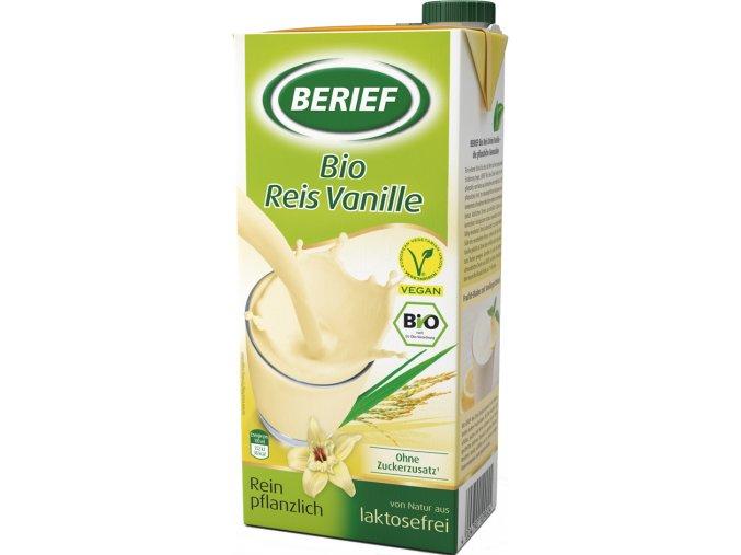 Bio rýžové mléko vanilkové 1 l