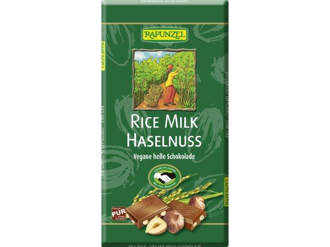 """Bio rýžová """"čokoláda"""" s oříšky RAPUNZEL 100 g"""