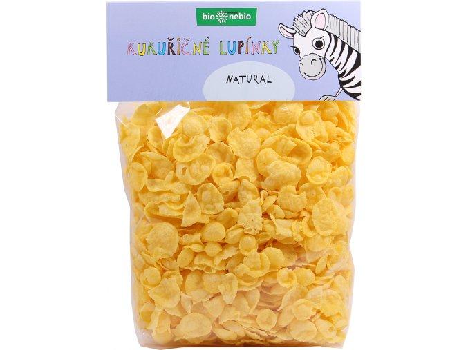 Bio kukuřičné lupínky natural 200 g
