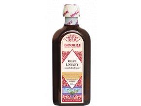 Lněný olej 500ml za studena lisovaný, extra panenský