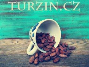 Kakaové boby nepražené, neloupané
