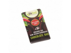 raw bio vegan lifefood 85 kakao chilli cokolada horka tmava15