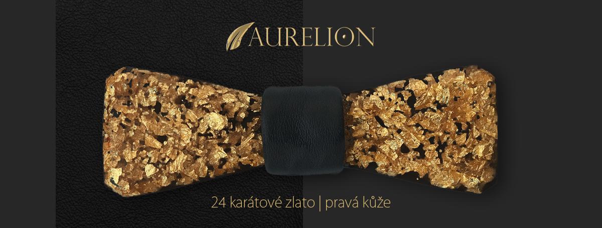 aurelion - motýlek ze zlata