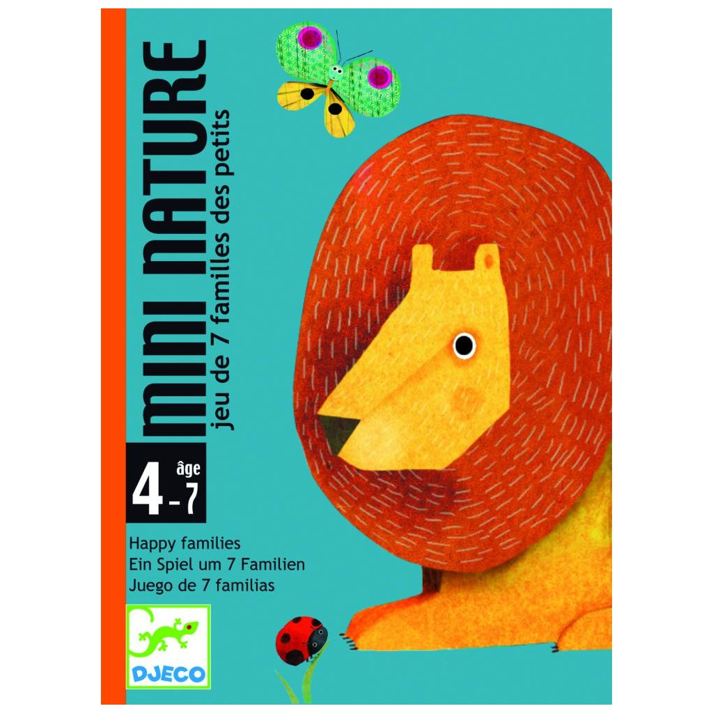 Kartová hra na spôsob kvarteta Mini nature