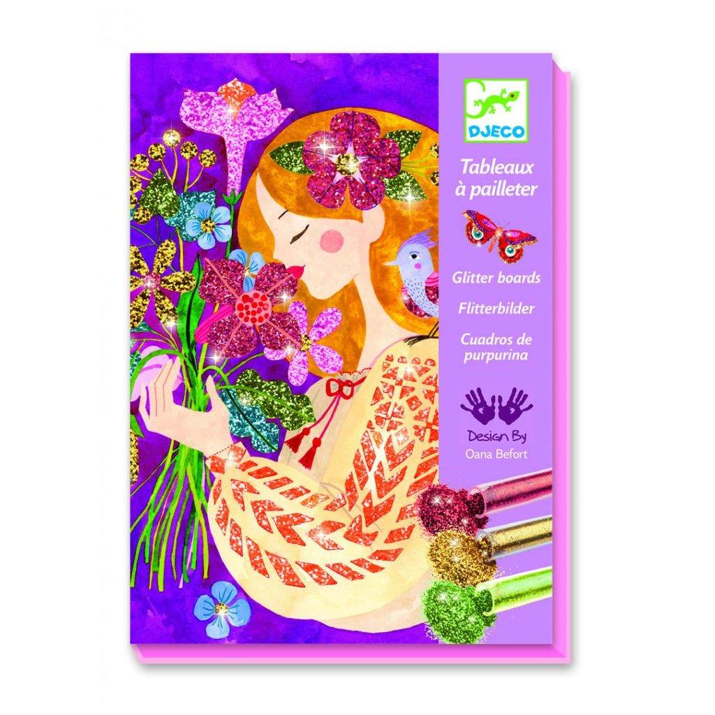 Tvorenie s trblietkami – Vôňa kvetov