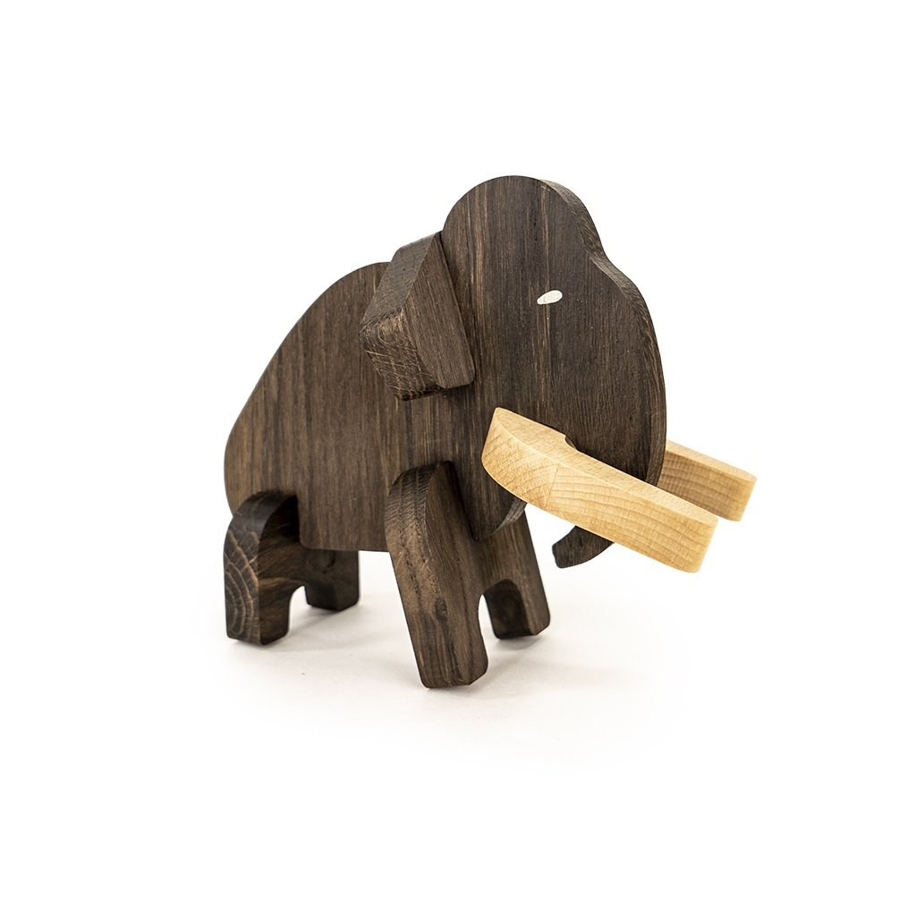 BAJO 3D Puzzle a vkladačka Mamut