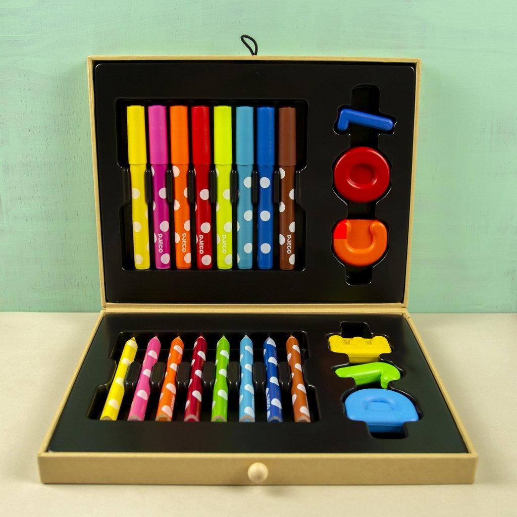 Výtvarný kufrík pre deti