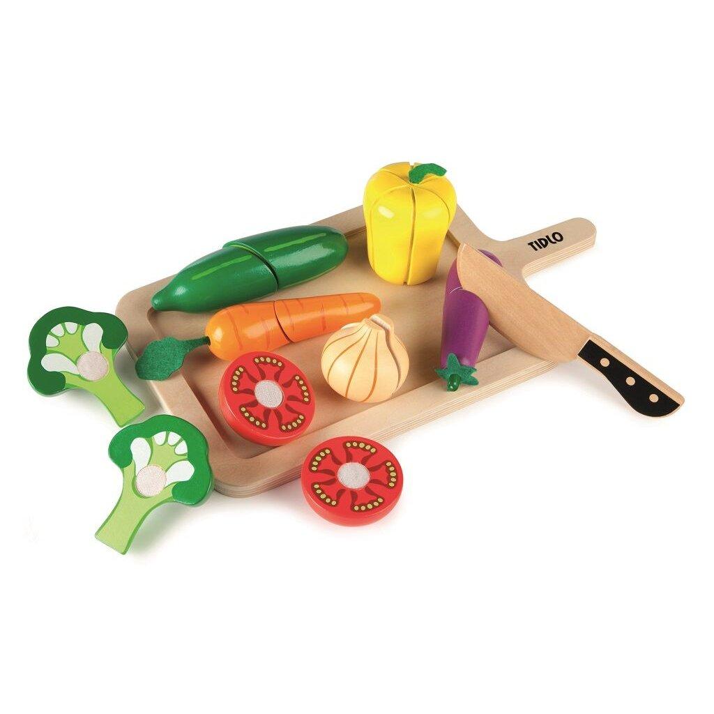T0215 Tidlo Doska so zeleninou