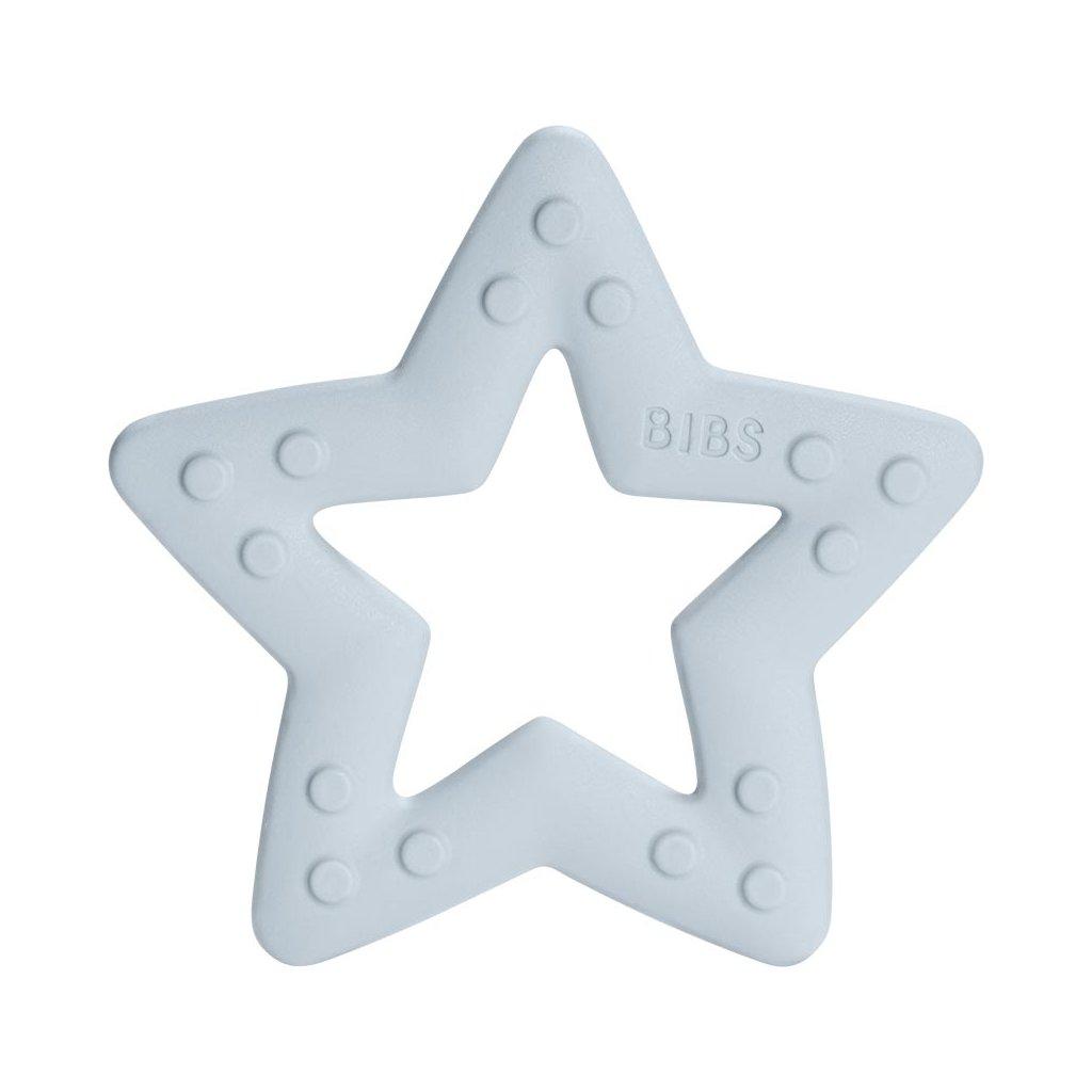 BIBS Baby Bitie Hryzatko Kousatko Star BabyBlue