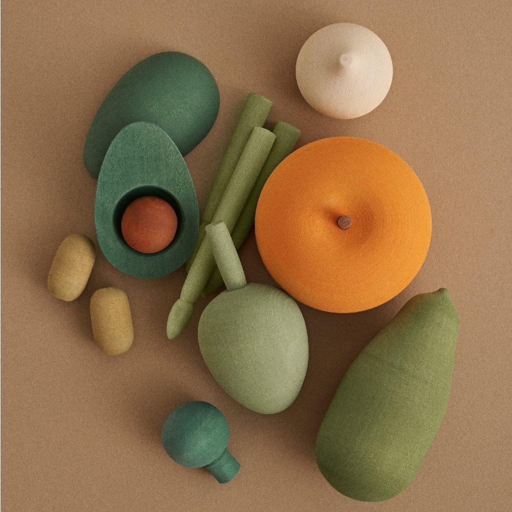Raduga Grez vegetables vol 2 Dreveny set zeleniny 2