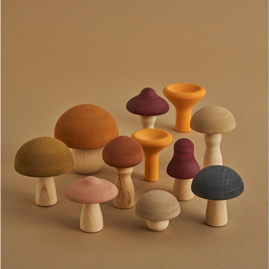Raduga Grez Mushrooms Drevene hribiky