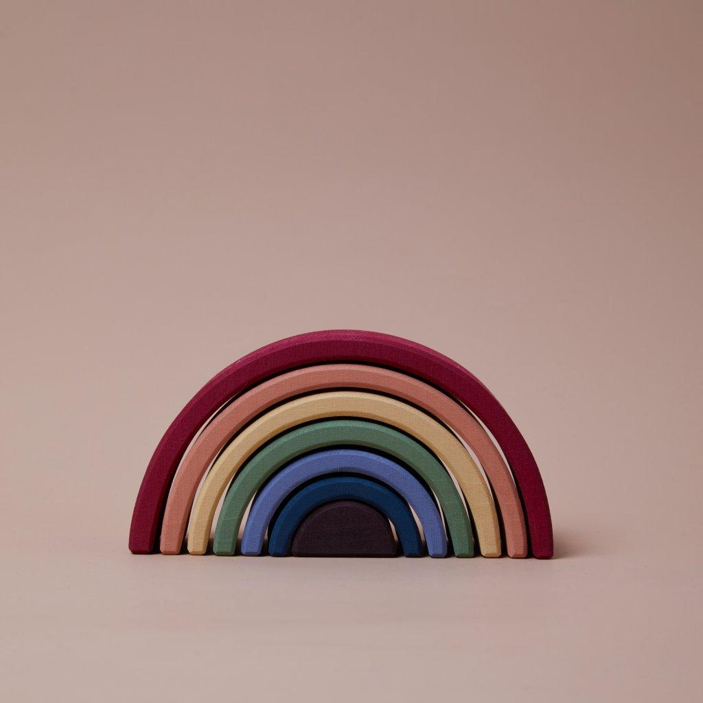 raduga grez drevena duha earth rainbow arch stacker