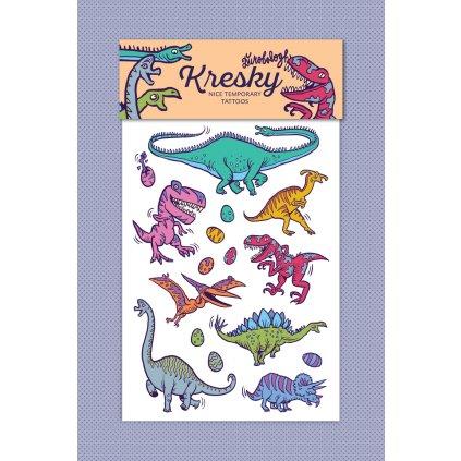 28 Kresky Dinosaury produkt