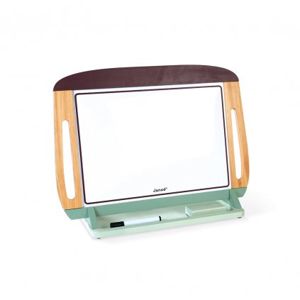 J09631 Janod magneticka tabula na stol obojstranna hneda zelena 02