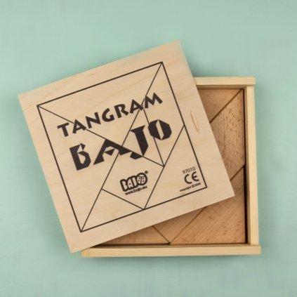 97010N BAJO tangram drevena krabicka