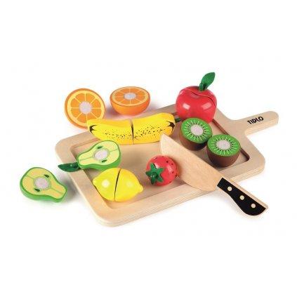 T0216 Tidlo Doska na krájanie s ovocím