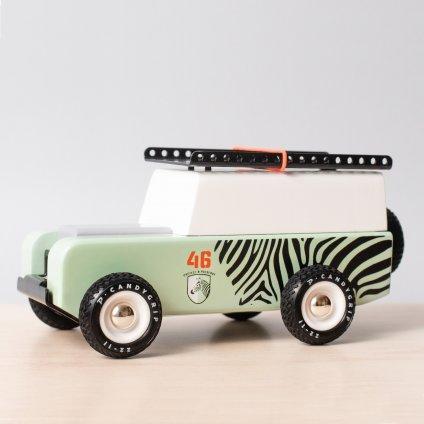 Drevene auto americana drifter zebra