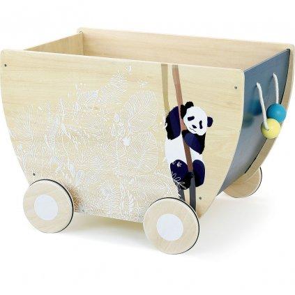 V1201 Vilac Drevený vozík Canopée