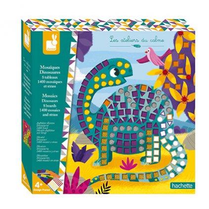 J07903 Janod mozaika dinosaury kreativna sada maxi 01