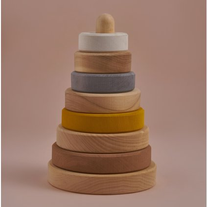 Raduga grez drevena stohovacia veza sand stacking tower