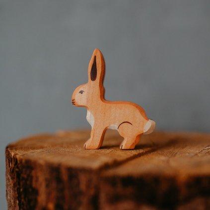 HOLZTIGER Drevené zvieratko Zajačik