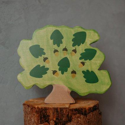 HOLZTIGER Drevený listnatý strom Dub