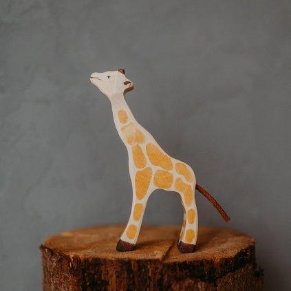 HOLZTIGER Drevené zvieratko Žirafa- malá