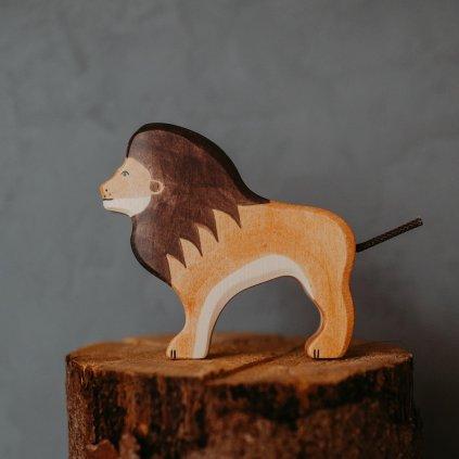 HOLZTIGER Drevené zvieratko Lev