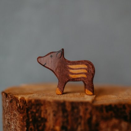 HOLZTIGER Drevené zvieratko Diviak - malý