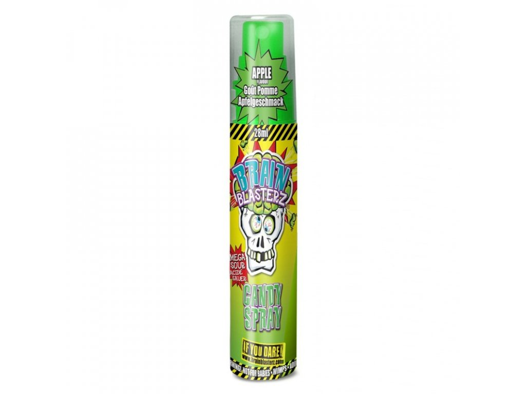 Brain Blasterz Sour Spray Apple 28ml