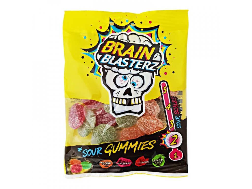 Brain Blasterz Sour Gummy Brains 100g