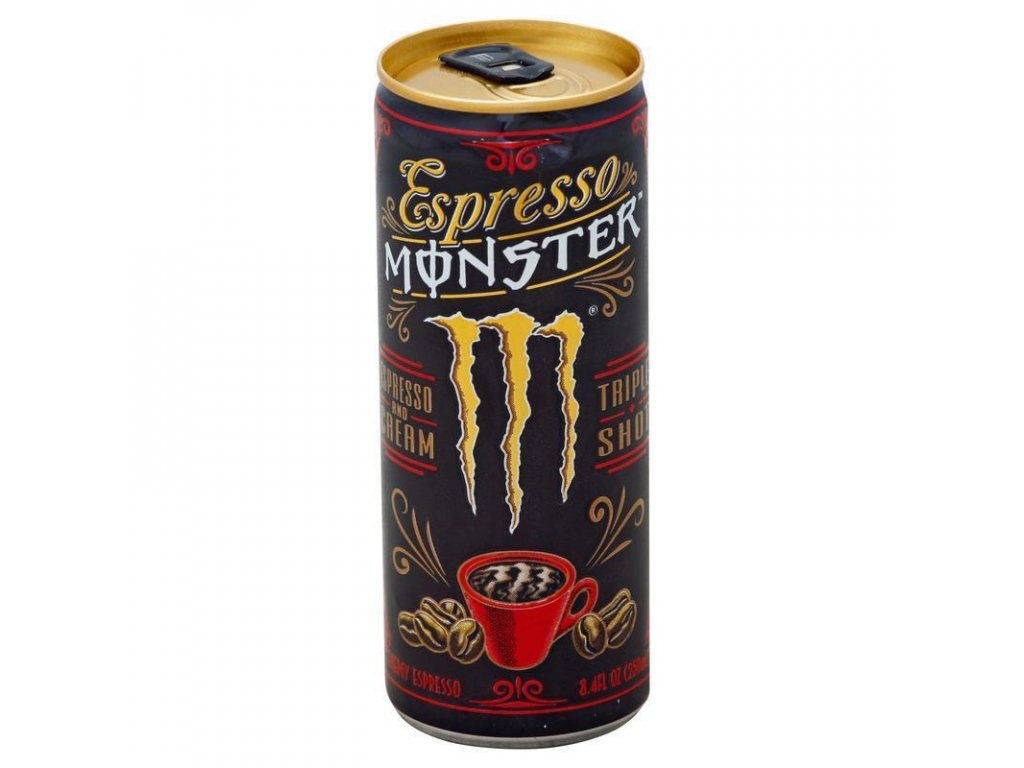 Monster Espresso And Cream Triple Shot 250ml