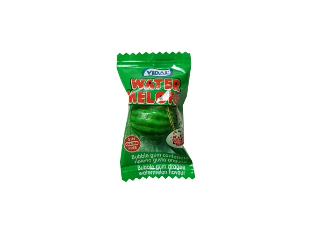 Vidal Watermelon Bubble Gum 5g