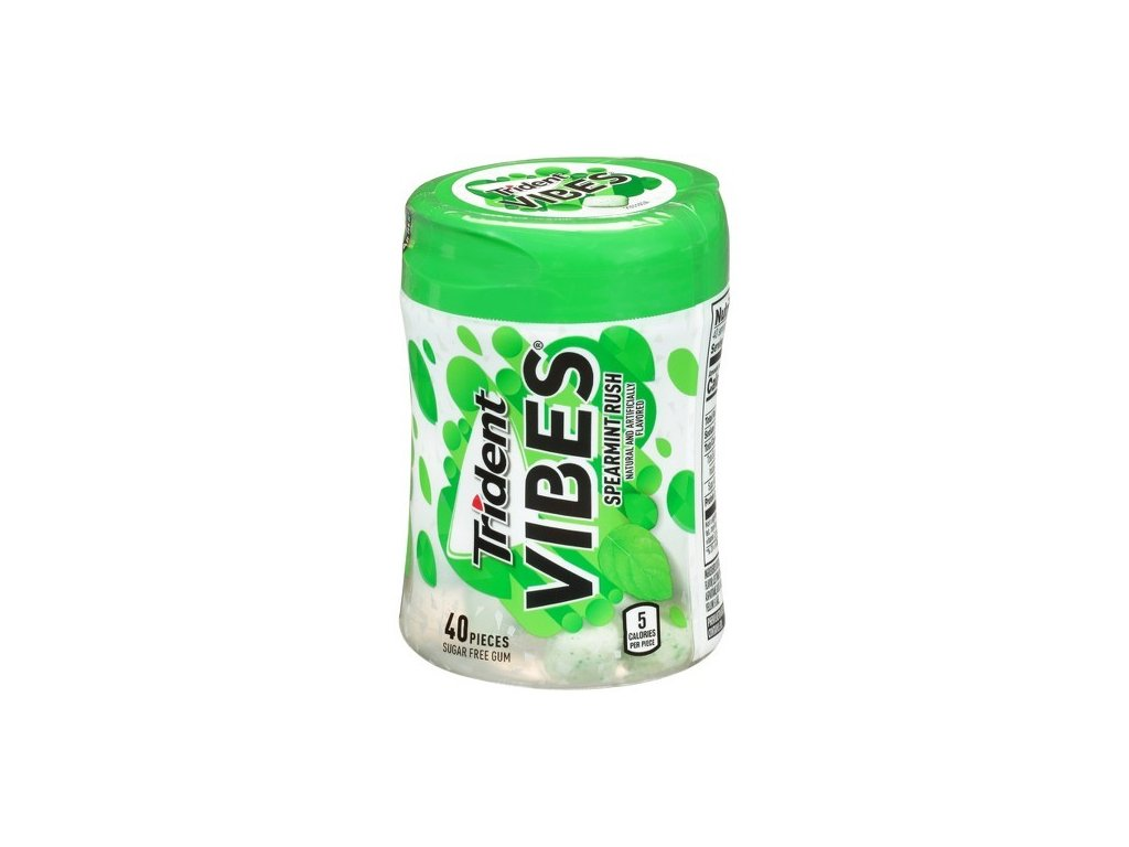 Trident Vibes Spearmint Rush 92g
