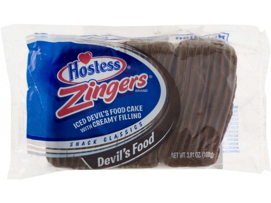Hostess Devil's Food Zingers 108g