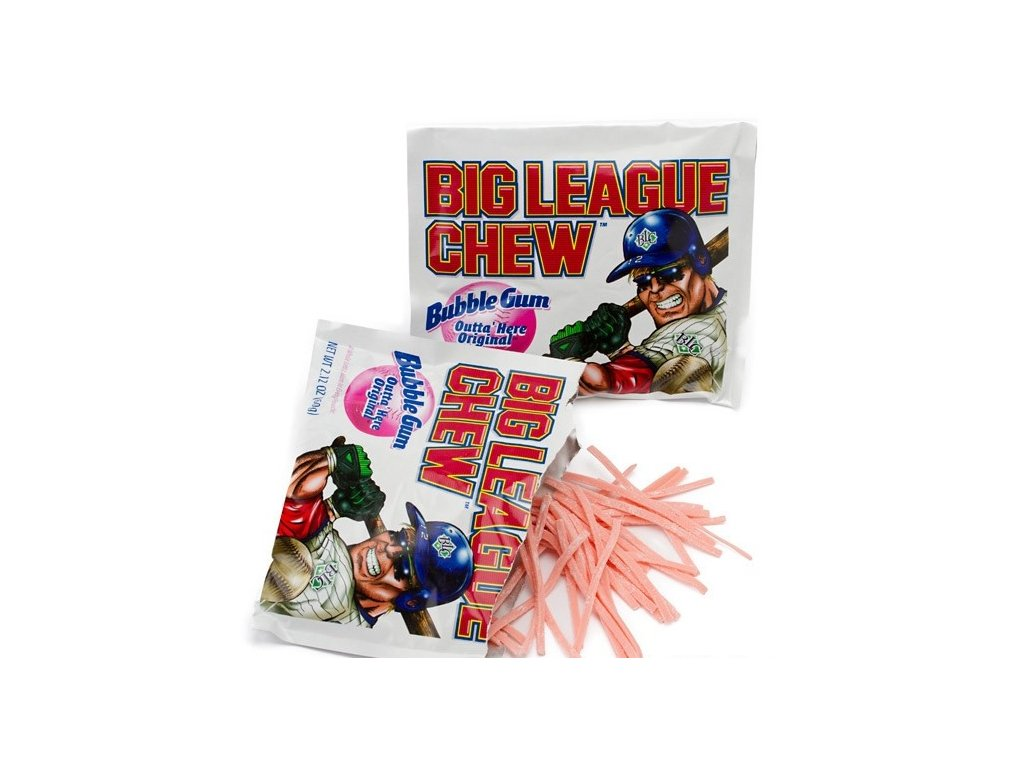 Big League Chew Bubble Gum Original 60g