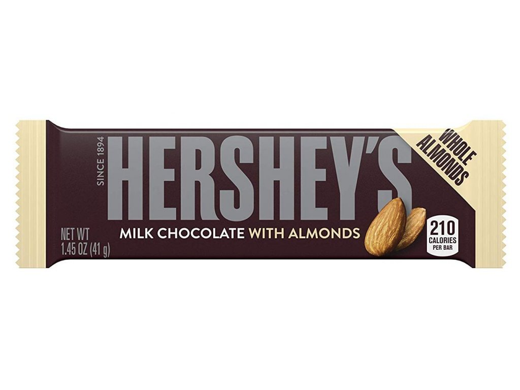Hershey's Milk Chocolate with Almonds 42.5g