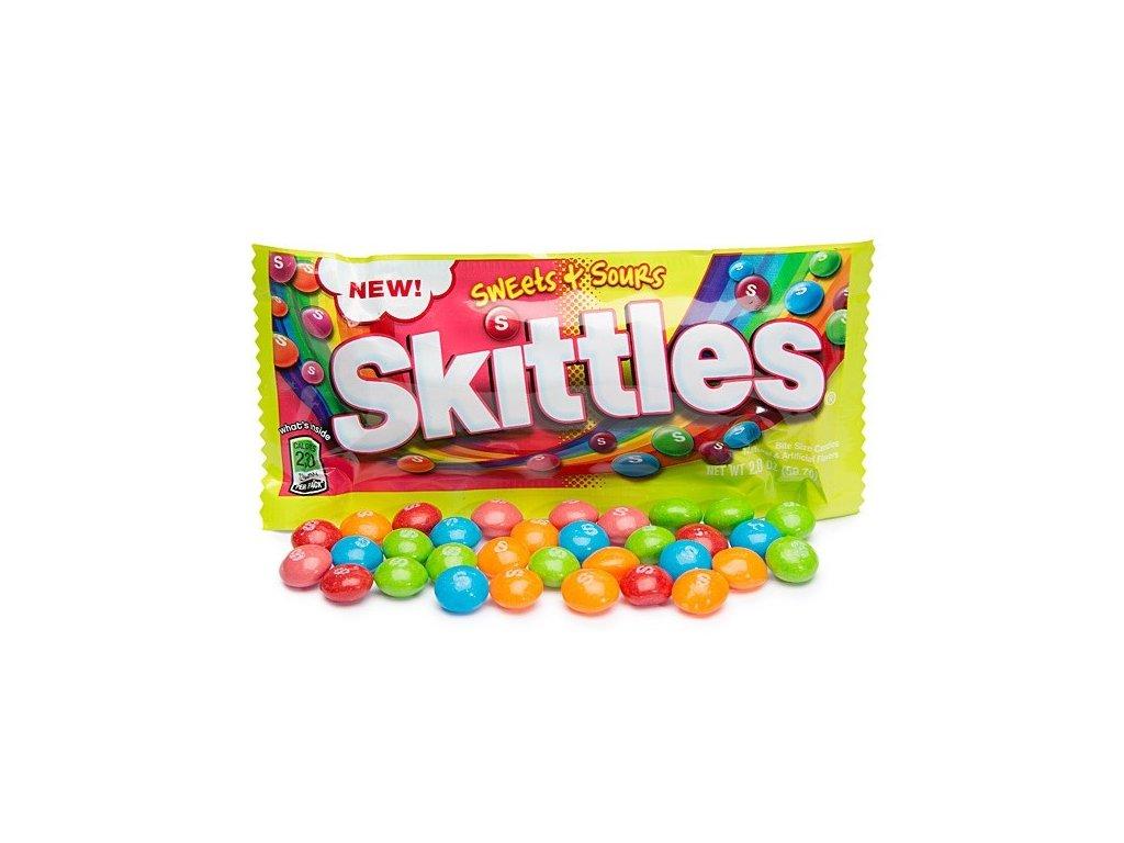 Skittles Sweet & Sour 56,7g