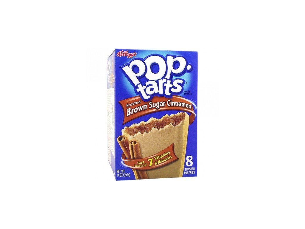 Pop Tarts Frosted Brown Sugar Cinnamon 384g