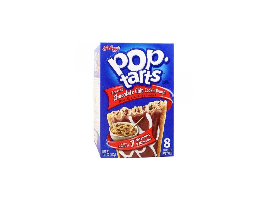 Pop Tarts Frosted Choc Chip Cookie Dough 384g