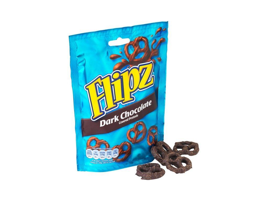 Flipz Pretzel Dark Chocolate 100g