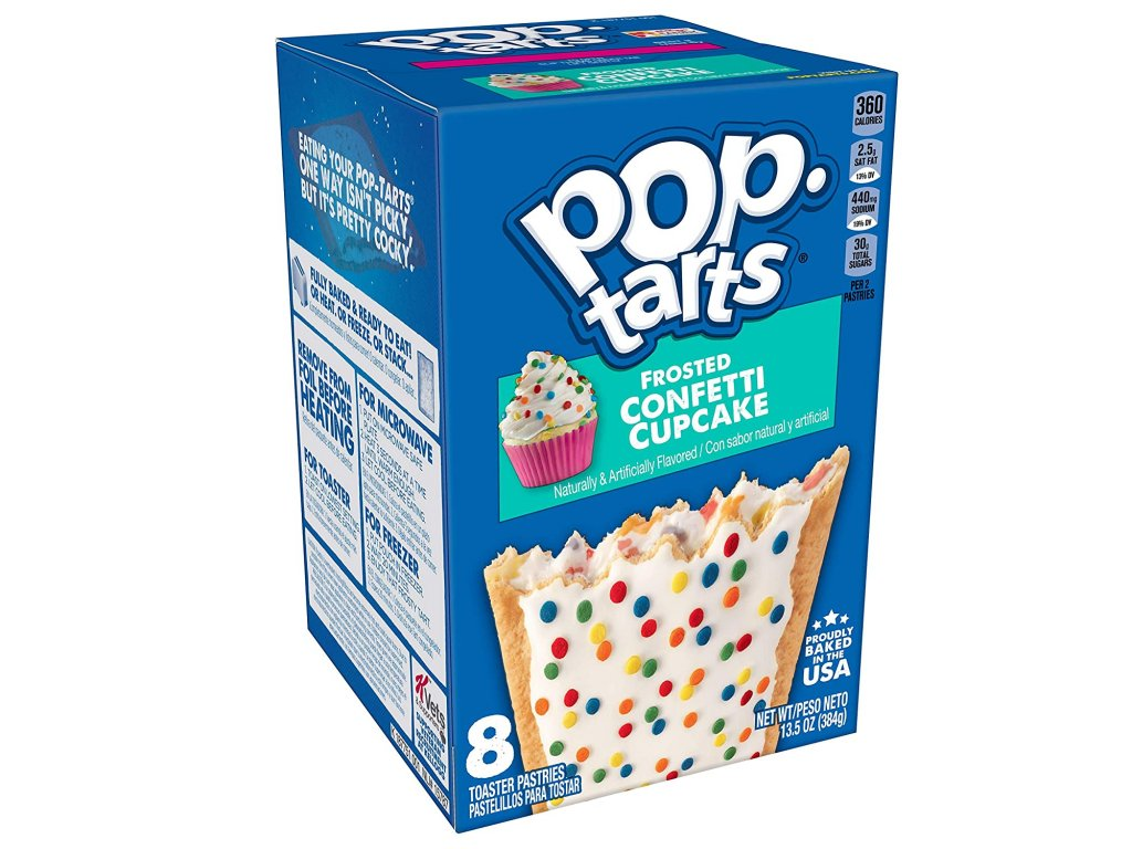 Pop Tarts Frosted Confetti Cupcake 384g
