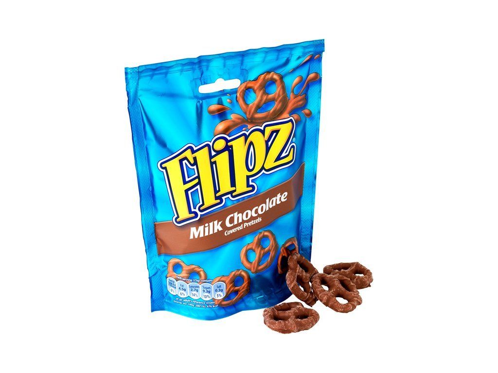 Flipz Pretzels Milk Chocolate 100g