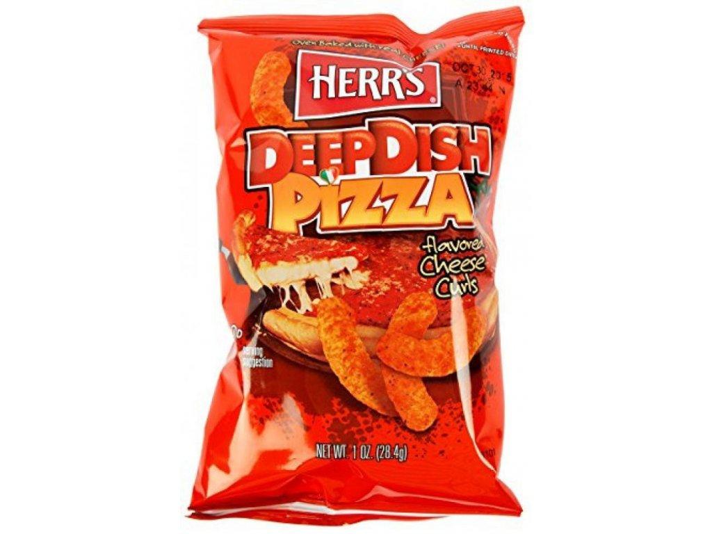 Herr's Deep Dish Pizza Cheese Curls 28,4g