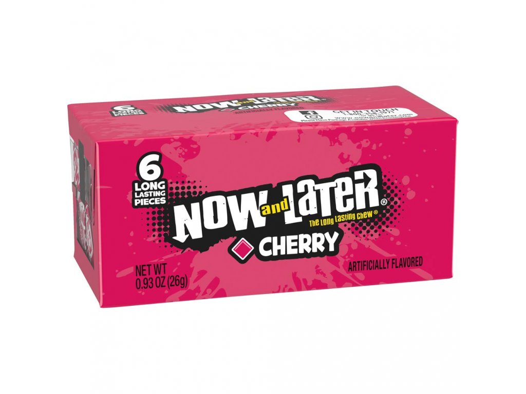 Now & Later Cherry 26g